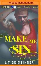 Bad Habit: Make Me Sin 2 by J. T. Geissinger (2016, MP3 CD, Unabridged)