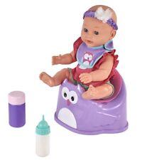 "My Sweet Love Baby Doll 14"" 5 Piece Set, Accessories Bottle Bib3+years NEW"