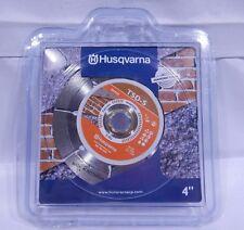 "Husqvarna 542761408 4"" TSDS segemented Diamond Saw Blade T1"