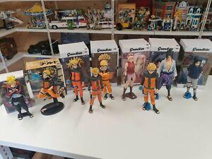Naruto Statue Collection X9 BANPRESTO.