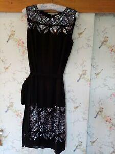 Jonathan Saunders black stunning party dress size 10