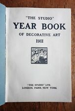 The Studio Year Book of Decorative Art 1911 Brangwyn Jessie King Crane Behrens