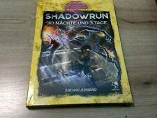 Shadowrun 6. Edition 30 Nächte und 3 Tage HC Neu OVP Pegasus Spiele 2020