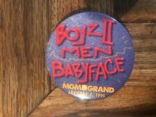 Boyz II Men Babyface Pinback MGM Grand Hotel Casino Las Vegas Nevada 1/5/1995