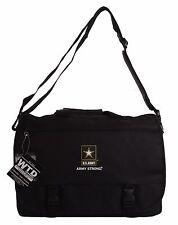 U.S. Army Official Licensed Black Laptop Messenger Bags
