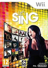 Let's Sing - Nintendo Wii (Wii) NUOVO - edizione italiana
