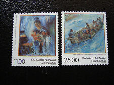 GROENLAND (danemark) - timbre - yt n° 304 305 nsg (A3) stamp greenland