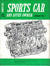 Sports CAR + LOTUS proprietario 2/60 Dart FIAT 600 NSU Wankel MOTORE JUNIOR LOTUS
