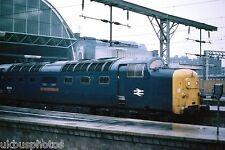 British Rail 55013 The Black Watch Dec 1977 Rail Photo