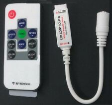 Mini RF LED Remote Controller Wireless For RGB 5050/3528 SMD LED Lights Strip