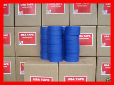 "Lot Of 32 Rolls 1 1/2"" X 60 Yrds Blue Painters Masking Tape MADE IN USA"