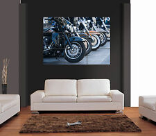 HARLEY DAVIDSON MOTO vettore Giant WALL ART PRINT PICTURE POSTER