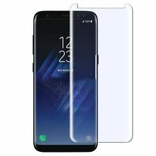 Lot of 5 Samsung Galaxy S8 Plus Full Covered Tempered Glass Screen Protector