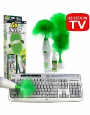 Go Duster Rotating Cleaner Dusting Brush For Home Car Accessories Laptop Office