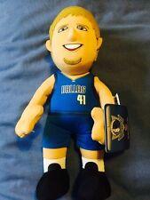 NBA Dirk Nowitski Dallas Mavericks Plush Toy BNWT