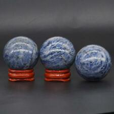 40mm Blue Sodalite Sphere Ball Natural Gemstone Crystal Healing Home Decor 1pc