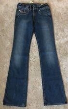 Diesel Ronhar Taille W 26/L 34 Coton Bleu Femmes Denim Jeans (BNWT) * NEUF *