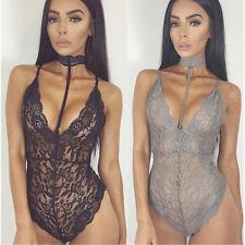 Sexy Lingerie Womens Lace Dress Bodysuit Nightwear Underwear Babydoll Sleepwear