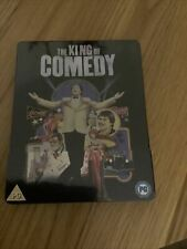 THE KING OF COMEDY (UK EXCLUSIVE STEELBOOK) [REGION B BLURAY] NEW & SEALED