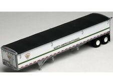Ho 1/87 Lonestar # 6021 Grain Trailer Kit - Nae North American Ethanol - White