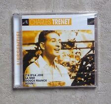 "CD AUDIO MUSIQUE/ CHARLES TRENET ""L'ESSENT"" CD COMPILATION NEUF SOUS CELLOPHANE"