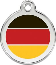 GERMANY-Red Dingo Dog Tag- Free Engraving & Delivery