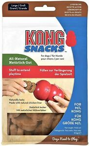 KONG SNACKS LARGE LIVER RECIPE 312GRM LONG DATED £6.99 FREE POST.