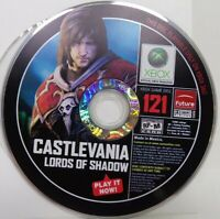 Microsoft Xbox 360 DEMO DISC Castlevania Lords Of Shadow #121 Video Game - RARE