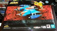 Bandai Soul of Chogokin GX-76X2 Grendizer D.C. Drill Spazer & Marine Spazer Set