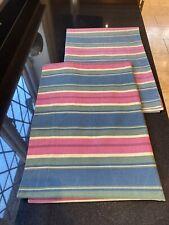 Dorma Cotton Housewife Pillowcases X 2 Stripes