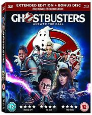 Ghostbusters 3D [Blu-ray] [2016] New & Sealed