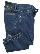 BOSS BLACK Jeans TEXAS in W31/L34 ( Regular Bootcut ) blue stoned STRETCH