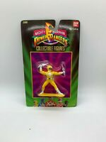 #2300 1993 Bandai Mighty Morphin Power Rangers YELLOW Ranger New NIP Sealed