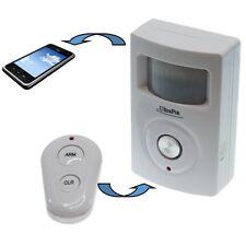 2G GSM teléfono y texto PIR Alarma alimentado por batería (ultrapir)