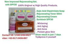 PB Rejuvenating set, whitening, Bleaching without redness or burning effect