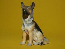 19) Schleich Schleichtier Dog Hund Schäferhund sitzend 16334
