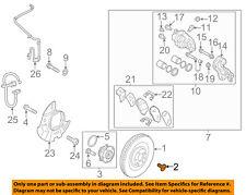 HYUNDAI OEM 10-16 Genesis Coupe Brake-Front-Rotor Screw 1220306167B