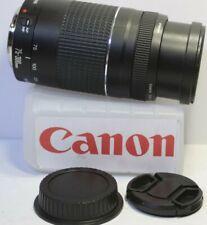 1-yr. Warranty Mint CANON EF 75-300mm f/4-5.6 III Telephoto Zoom Lens EOS Rebel