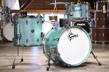 Gretsch Renown RN2 3pc Jazz Drum Set Turquoise Sparkle