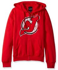 GIII For Her NHL New Jersey Devils Women's Wildcat Full Zip Hoodie - Large