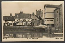Postcard Tewkesbury Gloucestershire view of Mill Bank RP by Frith