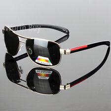 Hombre Gafas de Sol Lente Polarizada Aviador Piloto Tonos Deportes Al Aire Libre