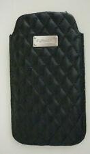 MEGA WIE NEU * KRUSELL HÜLLE ETUI für Handy Smartphone Tasche schwarz Karo Raute