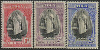 Tonga 1938 SG71-73 Queen Salote's Accession set MNH