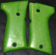 Beretta 92FS compact pistol grips apple green plastic