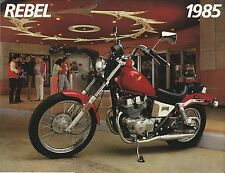 1985 Honda CMX250 C - REBEL - Motorcycle Sales Brochure - Literature