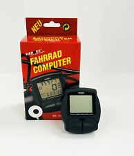 Bicycle Computer & Alarm Clock, 12 Functions - New in Box
