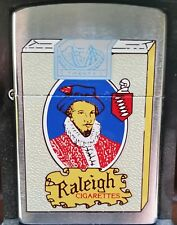 Sehr Selten Zippo Raleigh Cigarettes Ltd. Only 50 Made 2000 MIB RAR !