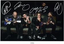 COLDPLAY AUTOGRAPHED SIGNED A4 PP POSTER PHOTO