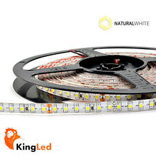 KingLed® Strisce LED 24V 600SMD3528 Naturale 4000K 48W 5m Impermeabile IP65 0716